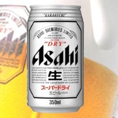 【アサヒスーパードライ】☆嬉しい缶ビール付プラン☆朝食バイキング無料サービス