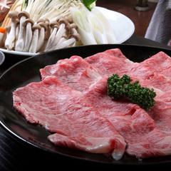 【露天風呂付き客室】夕食はお部屋食で☆霜降り常陸牛すき焼き☆16時間ステイ