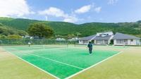 【1泊3食付き】昼食にバーベキュー付きテニスプラン★コテージ