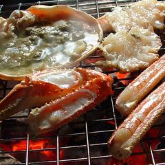 食べ切活蟹プラン!松葉カニ勢子カニコース