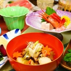 【ピンクリボン運動応援】 源泉かけ流し温泉と旬のお料理満喫プラン!