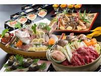 <GoToトラベル対象>☆高級食材祭り☆地魚の活造り&紀州くえ&和華牛の特別会席  ★コース