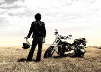 【バイク旅応援】【屋根付駐車場有】ツーリング+温泉+飲み食べ放題プラン