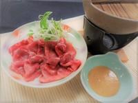 【一品料理「牛タンしゃぶしゃぶ」付】1泊2食バイキング 夕食時飲み放題付!