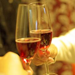 【二人で・みんなでお祝い】源泉貸切風呂&ワイン1本付&チェックアウト11:00