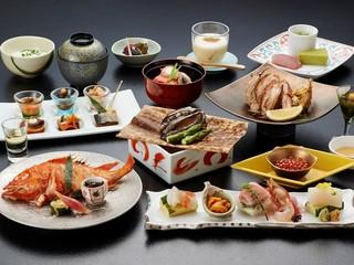 北海道の旬の高級食材を堪能 東館基本料理【郷の膳】プラン 夕朝食はお部屋食で提供