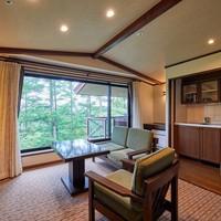 45平米洋室 (ベッド2台+エキストラベッド1台)