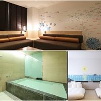 【壁紙アート】大型温泉浴槽付/広々73平米【眺望なし】