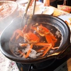 【限定】☆活きたセコガニ(メスガニ)を湯がきながら食べれるなんてもうびっくりね!間人蟹と夫婦プラン★