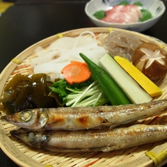9月1日底引網漁解禁!丹後地酒に合う魚探したよ♪七輪で熱々の沖ギスを好きなだけ食べれるから嬉しいね♪