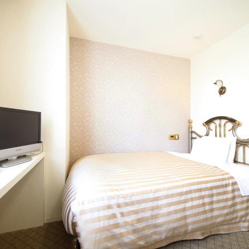 【ビジネス・カップル】セミダブルベッドで1名様7000円→2名1室利用なら更にお得ッ★素泊まりプラン
