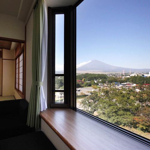 【富士山ビューお部屋確約】世界文化遺産を見よう!<気楽坊温泉>+<朝食バイキング>【しず得ほっこり】