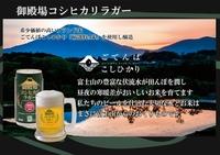 富士山の麓◇御殿場高原の地ビール「御殿場コシヒカリラガー」1ケース24本付き!朝食バイキング付き