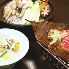 【冬の特別会席】《冬季限定》福を呼ぶ♪信州和牛とふぐを味わう贅沢プラン