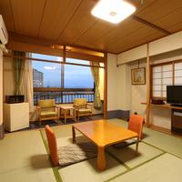 きれいな琵琶湖が見える和室10畳