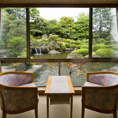 Aタイプ(和室10畳:庭側)日本庭園が一望できる部屋指定1F