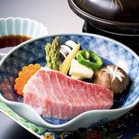 【お正月・味覚プラン】お肉とお魚をWで堪能♪和牛&とろのWステーキメイン会席!お正月味覚プラン!