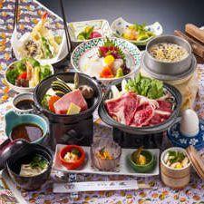 ◆宴◆ 満足ぷらん!<牛・豚・海鮮など>3種より選べる会席!