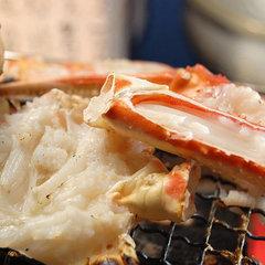 1Kgの大蟹で満腹♪甲羅みそ付きカニフルコースプラン