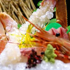 幻の蟹を食す!松葉がに満喫【乙姫コース】