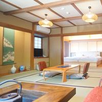 【紫陽花】(本館2階・和洋室・トイレ付・43平米)