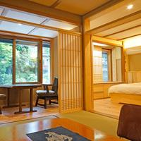 【白露】(本館2階・和洋室・トイレ付・42平米)