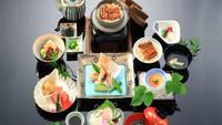 三河一色産うなぎ使用ひつまぶし付き会席「御所」プラン(夕食・朝食付)