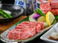 【楽天スーパーDEAL】モモ肉とサーロインを合わせ150g♪厳選和牛のサイコロステーキ会席プラン