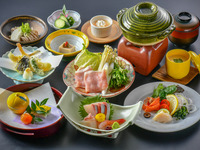 【楽天スーパーSALE】10%OFF!10種類からメイン料理をチョイスできる♪十人十色会席プラン