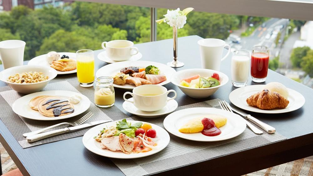 【ベーシックプラン】〜ホテルで優雅な朝食を〜Bed&Breakfast