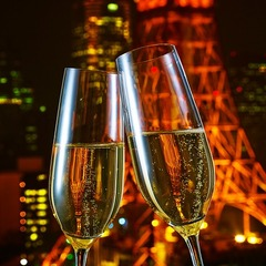 Room No.17 with Champagne〜東京タワーが見えるバスルーム〜