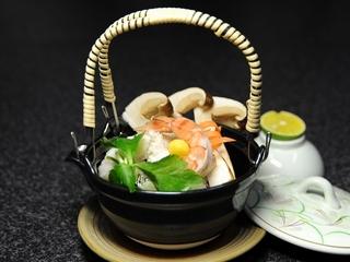 ☆【早割】30日前までのご予約がお得! 「焼き松茸付き海鮮会席」 夕食・朝食どちらもゆったりお部屋食