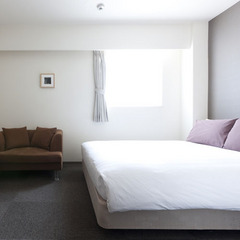 『室数限定1名様でも2名様でも7000円から』高層階ダブルルーム/朝食付