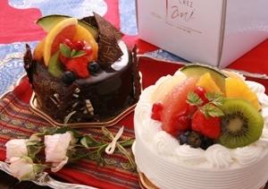 【アニバーサリーケーキ付】夕食は夢龍胆創作料理で!朝食はしっかり和食プラン