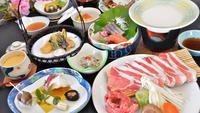 【人気グルメ】佐賀県産牛&地元ブランド豚を絞りたて豆乳鍋で頂く◆豆乳鍋会席プラン