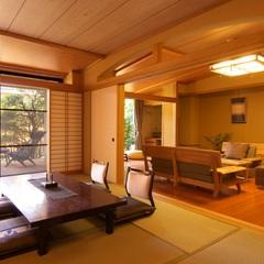 【露天風呂付特別室 和洋室+ベッドルーム】−Dタイプ−