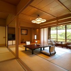 【ガーデンビュー和室10畳+6畳】−Bタイプ−
