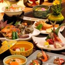 【基本プラン】地魚お造り、金目鯛の煮つけ、かさご唐揚、あわび料理&天然温泉を楽しめる♪