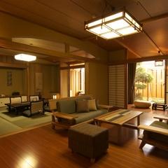 【露天風呂付貴賓室 和洋室+ベッドルーム】−Eタイプ−
