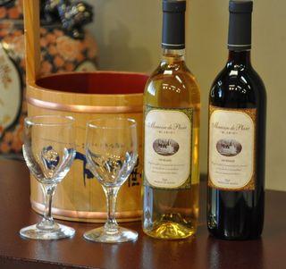 【カップル・ご夫婦におすすめ】美人の湯×ワインで二人だけの乾杯♪
