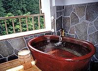 露天風呂付き和室8畳+4,5畳堀ごたつ付