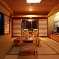 【檜風呂付き和室10畳】+前室3畳+広縁2畳