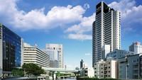 【素泊まり】◆大阪メトロ四つ橋線「肥後橋駅」3号出口直結◆【アパは映画もアニメも見放題】