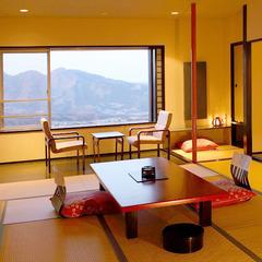 【山の眺めのあるお部屋】喫煙可◆和室12畳