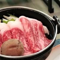 【個室食】上州牛すき焼き旨味たっぷり特選ロース×シルク会席 団欒コース【プラン内容をご確認下さい】