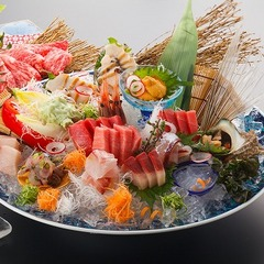 【産直鮮魚と旨い鮪&鮑大放出】「旨いをもっと」石川県直送鮮魚と鮪&鮑de豪華お造りstyleプラン