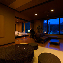 【マッサージチェア付客室】 モダン和洋室20畳◆禁煙室