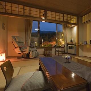 【マッサージチェア付客室】 和室10畳+広縁 ◆禁煙室