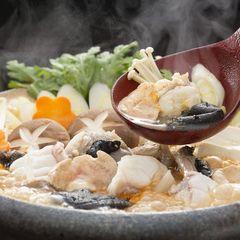 【秋冬旅セール】【あんこう鍋】ぷりぷり新鮮なあんこうと温泉を楽しむ冬のグルメプラン♪和会席コース料理