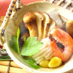 【松茸の土瓶蒸し付きプラン】年に一度のこの時期だけ♪贅沢気分で過ごす秋の休日(9/5〜10/10)